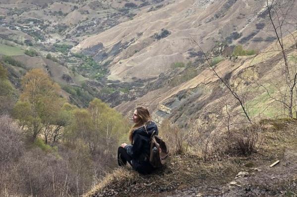 Горы Кавказа выглядят очень величественно
