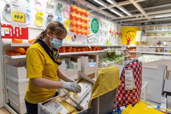 Сегодня в ИКЕА Новосибирск работают 500 сотрудников