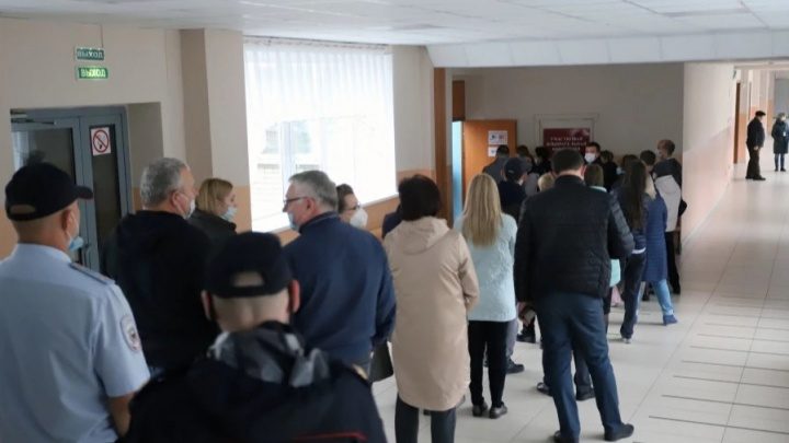 В избирком Зауралья поступили обращения по поводу нарушений на выборах
