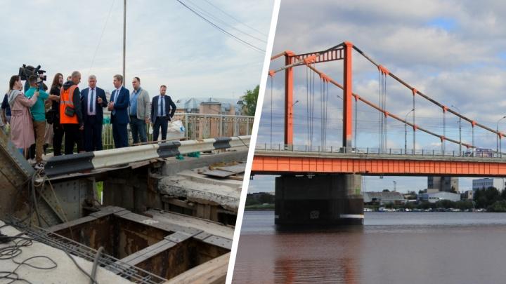 Эпопея длиною в годы: Северодвинский мост починили, а когда дойдут до так же убитого Кузнечевского?