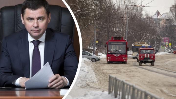 Губернатор оценил уборку дорог в Ярославле: его выводы