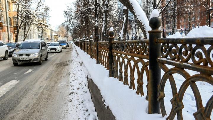 Проржавевшее благоустройство: нижегородцы вновь возмущены качеством ремонта сквера на Звездинке