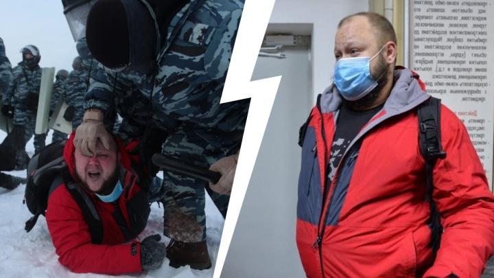 «Мне бегать не от чего— я в своей стране»: интервью с задержанным на акции протеста в Екатеринбурге
