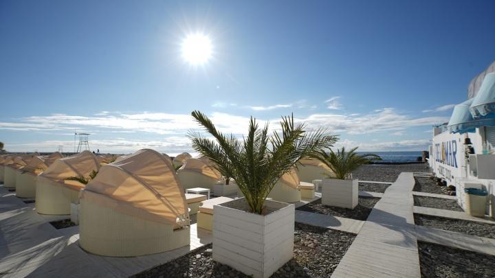 В Сочи откроют 25 зимних пляжей