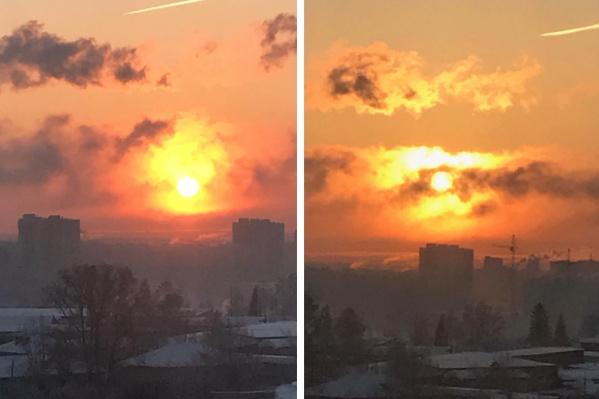 Уровень загрязнения достиг максимальной отметки, а в воздухе виден смог