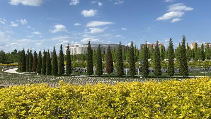 Как там в Краснодаре: гуляем по роскошному парку миллиардера Галицкого