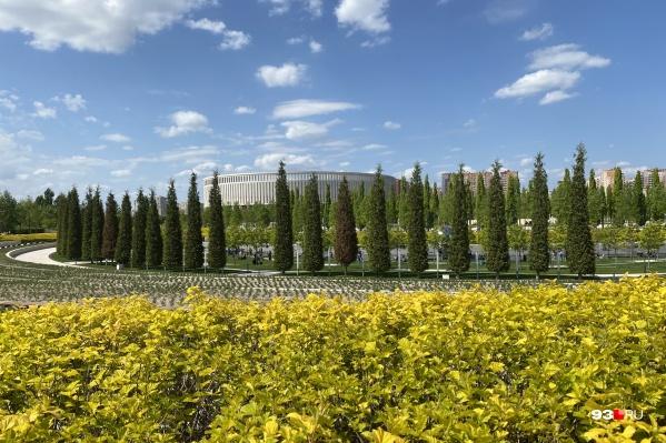 Архитекторы из немецкого бюро GMP создали в Краснодаре парк Галицкого, а Екатеринбург станет их второй площадкой в России