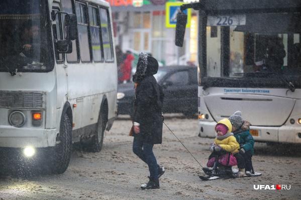 Ближайшие три дня в Башкирии будет идти снег