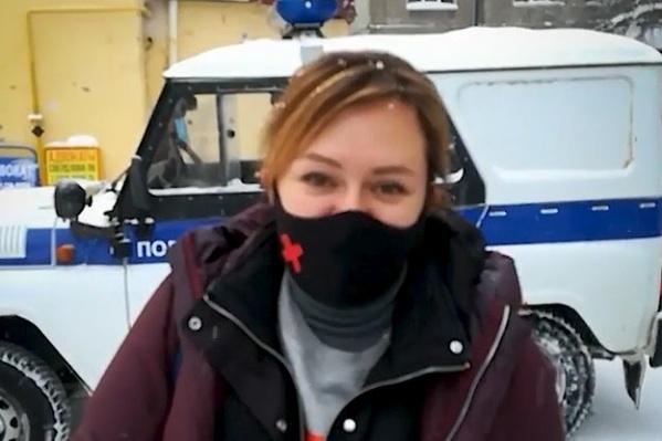 Девушка планирует и дальше бороться «за прекрасную Россию будущего»
