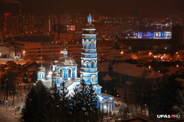 Собор Рождества Богородицы — один из самых красивых храмов Уфы