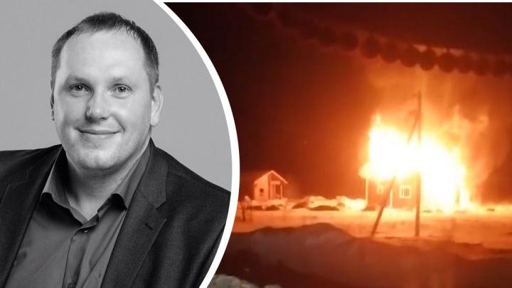 В пожаре погиб известный в Архангельской области и за ее пределами адвокат Леонид Кожевников