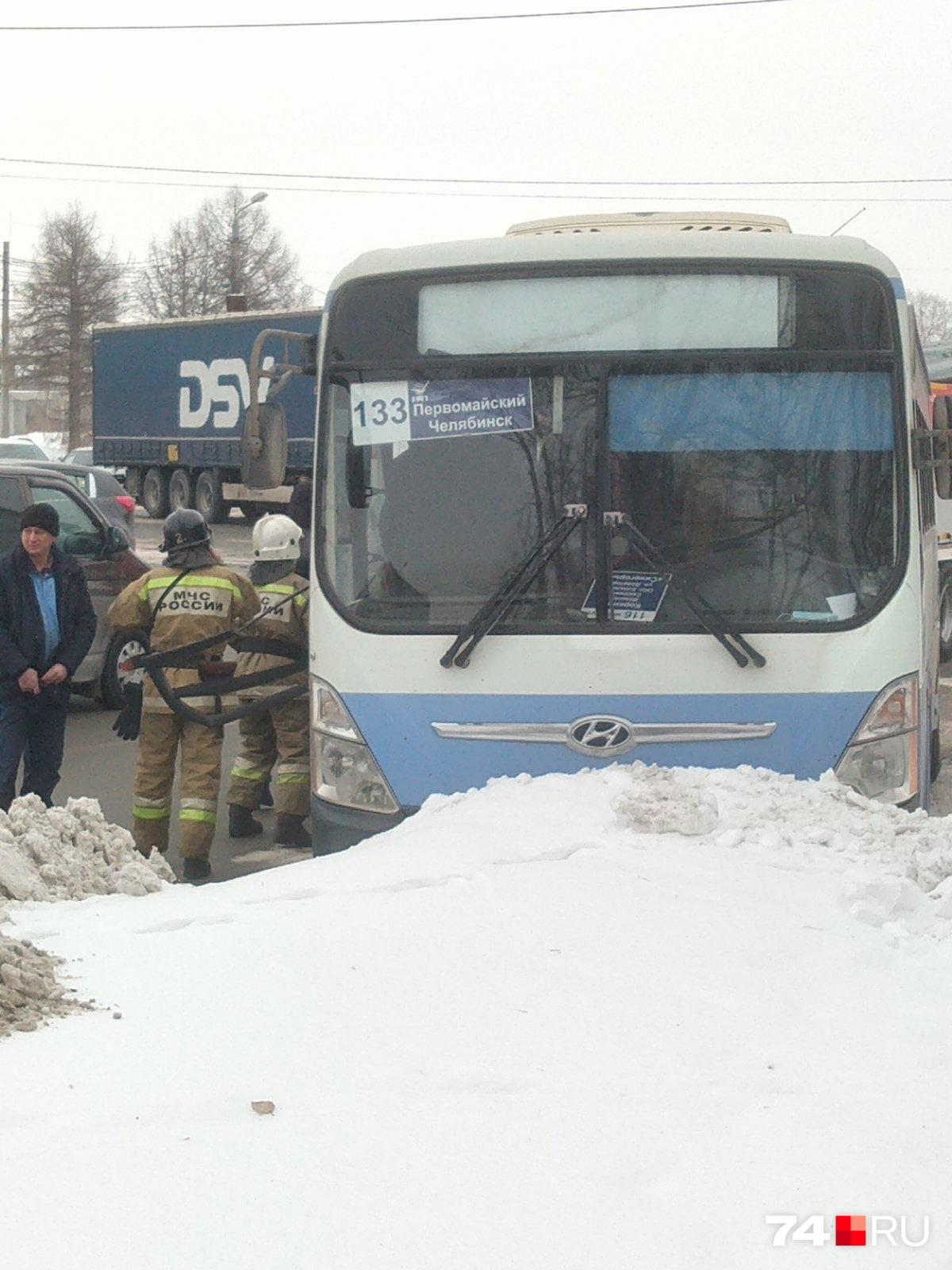 Авария произошла днем во вторник