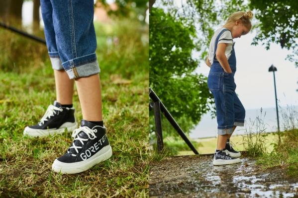 Выглядеть стильно, как мама? В паре из новой коллекцииECCO STREET TRAY Kids это легко!