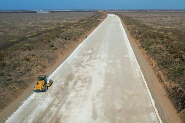 Эта трасса является частью большого проекта