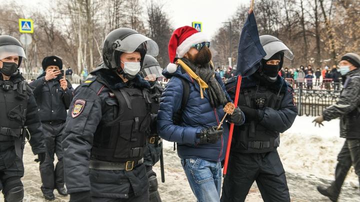 «Людей силой приводят на заседания». Как судят участников митингов в поддержку Навального в Екатеринбурге