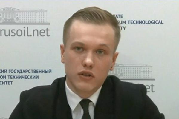 Даниил Чемезов задал свой вопрос в прямом эфире