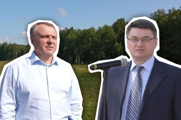 Николай Брыкин (слева на фото) много лет работал в силовых структурах. Иван Квитка (справа) в Госдуме находится с 2007 года