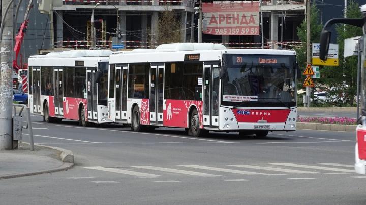 С 1 июля в Перми изменят автобусный маршрут № 20