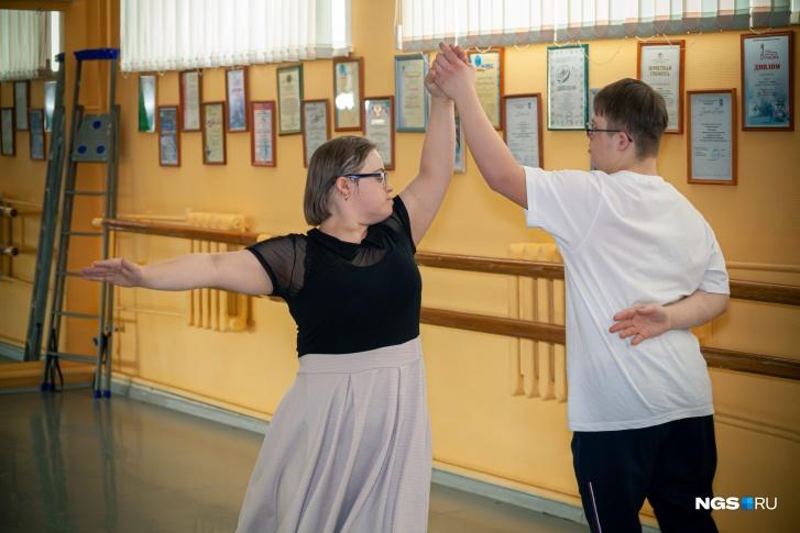 Юлия и Георгий тренируются с прошлого года
