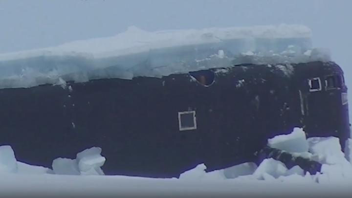 Минобороны показало эффектное видео с экспедиции у Земли Франца-Иосифа