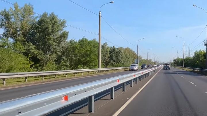 Быстро и безопасно: смотрим, как разделили транспортные потоки на Южном шоссе