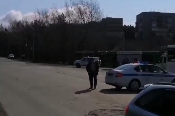 В Новосибирске полиция обыскивала «Хонду-Цивик»— искали взрывчатку