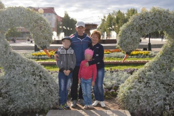 Семья была в Октябрьском на хорошем счету