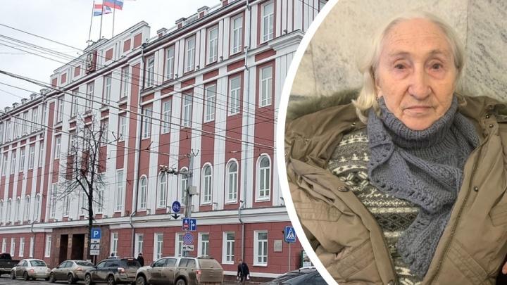 В администрацию Перми пришла пожилая женщина: она ничего не помнит и просит помочь найти родственников