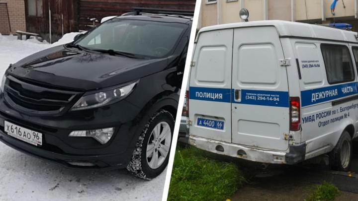 Полицейские поймали механика екатеринбургского автосервиса, угнавшего машину клиентки