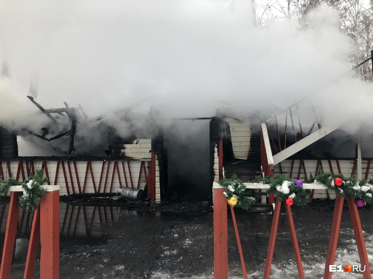 Фото после пожара