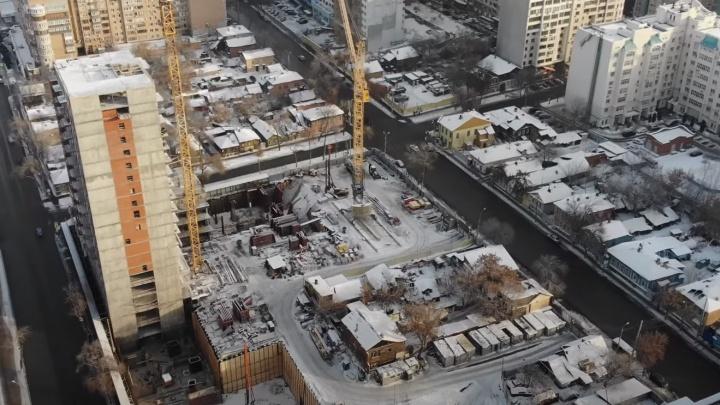 «Элитное жилье рядом с избушками»: в центре Самары возвели новый ЖК