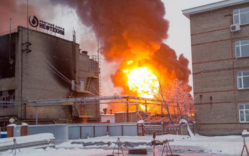 Огонь видели все местные жители