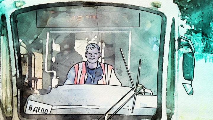 «Что меня бесит». Водитель трамвая — об автохамах, дискотеках среди пассажиров и адском расписании