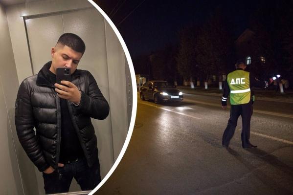 Векил Абдуллаев (слева) получил ранение, когда пытался помешать полицейским задержать своего приятеля