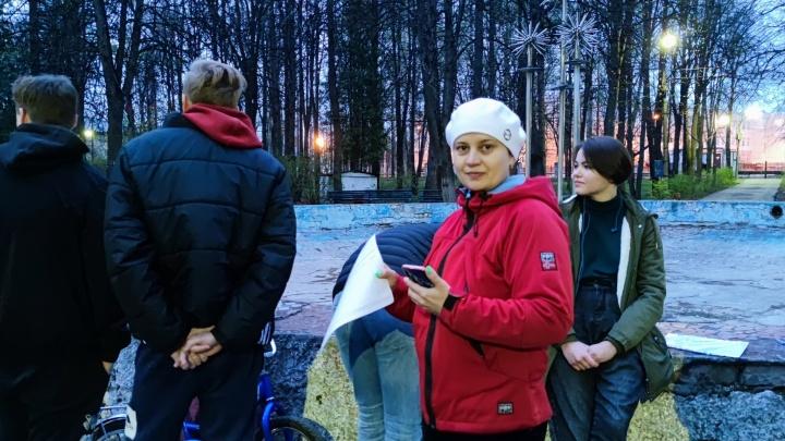 «Мы готовы встать живой цепью». Павловчане протестуют против сноса старинного фонтана