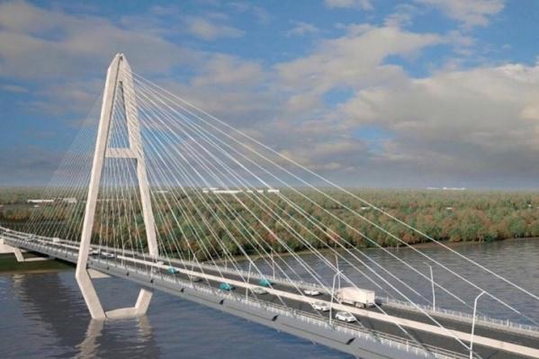 По проекту мост будет выглядеть так