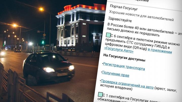 Тюменец обнаружил у себя в сервисе «Госуслуги.авто» чужие машины — как это вышло и что делать?