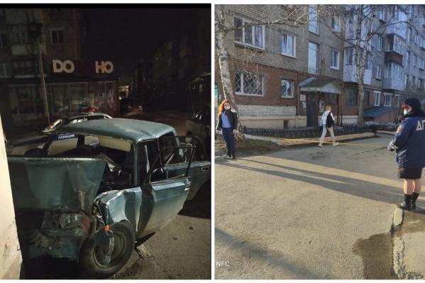 Пьяные подростки долго не могли завести машину, но им помог проезжающий мимо водитель