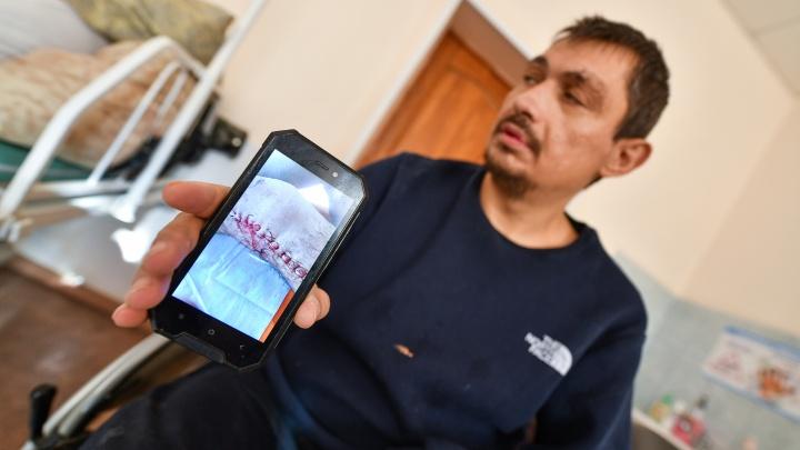 «Кости срастаются — врачи их ломают». Репортаж из палаты, где неделями ждут операции и боятся тараканов