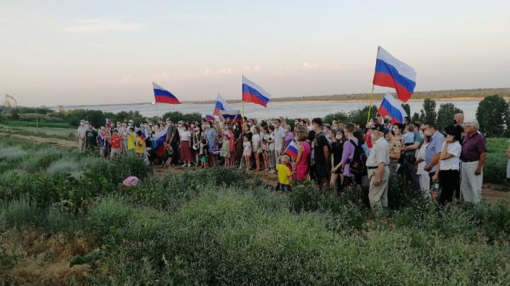 «Дайте нам парк»: волгоградцы просят президента Путина спасти набережную на Тулака от друзей губернатора