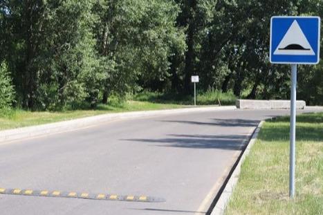 В Татышев-парке установили «лежачих полицейских»