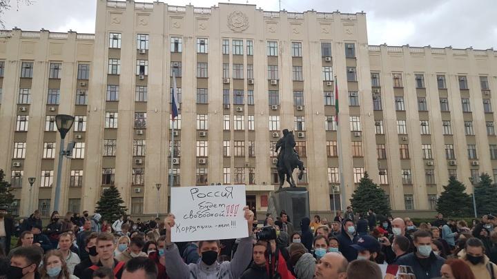 На митингах в поддержку Навального на Кубани задержали 82 человек— ОВД-инфо