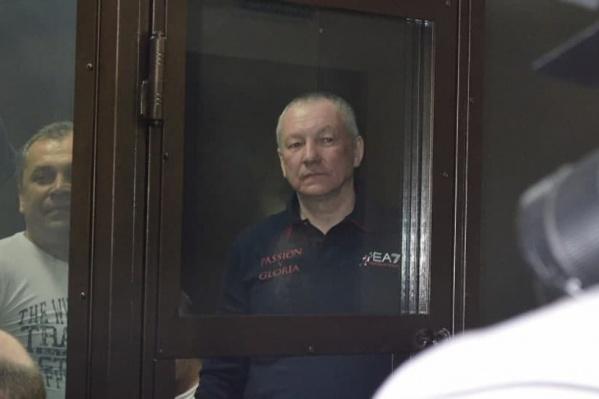 Виктор Контеев на суде в Кургане в 2014 году