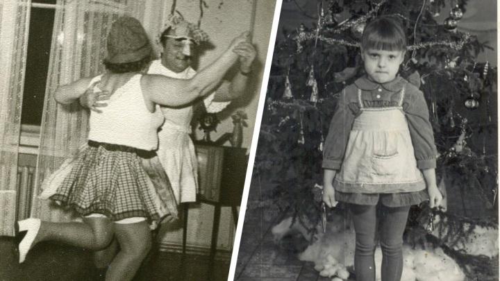 Платье из марли и карнавал на дому: эти фото расскажут, каким был Новый год полвека назад и раньше