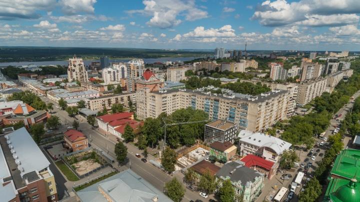 В Перми уточнили размеры и места для размещения табличек с названием улиц и номерами домов