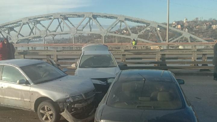 В Ростове возбудили дело после массовых ДТП наСиверса