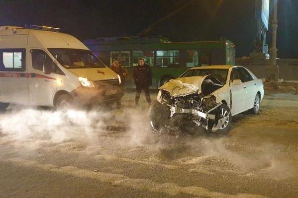 Автомобили получили значительные повреждения
