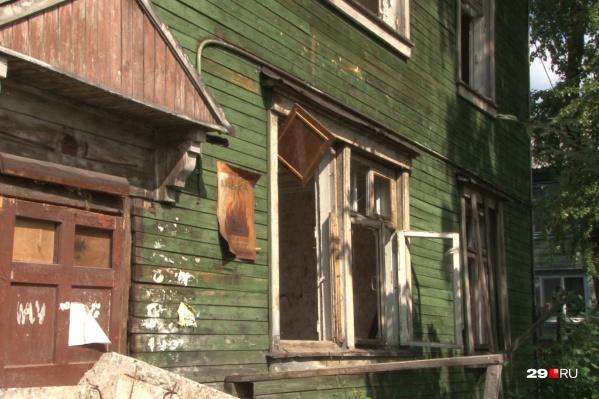 Управляющая компания не предпринимала ничего, чтобы предотвратить сход домов со свай
