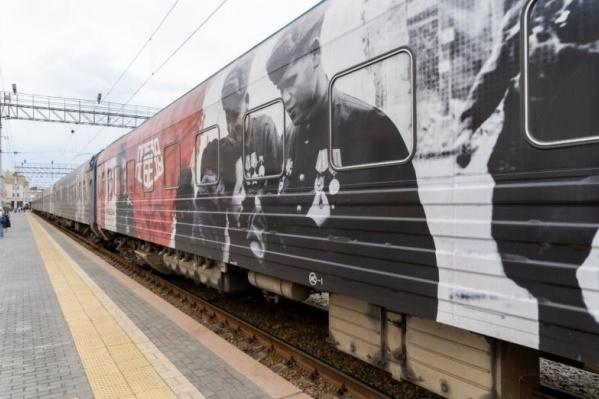 Уникальный передвижной музей остановился в Екатеринбурге на два дня