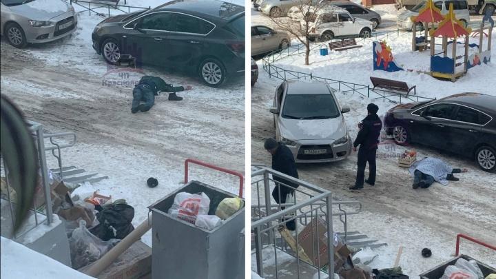 В Северном микрорайоне мужчина выпал с 16-гоэтажа